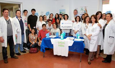 El Área Integrada de Talavera se suma a la campaña de la OMS #safeHANDS en el día de la Higiene de Manos