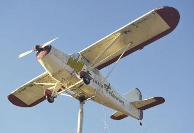 El Consistorio adquiere mañana la mítica avioneta de la Avenida de Madrid como reclamo simbólico y publicitario