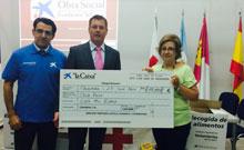 La Obra Social de La Caixa dona más de 10.000 kilos de alimentos a Cruz Roja Talavera