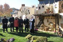 Caja Rural de Castilla-La Mancha da la bienvenida a la Navidad con la inauguración de su tradicional Belén