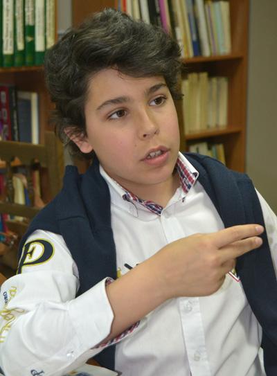 Álvaro Cabo, el jovencísimo bloguero talaverano que arrasa en las redes sociales