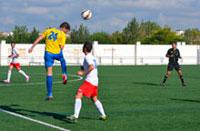 El Calera se lleva los tres puntos ante el Talavera La Nueva con penalti incluido
