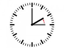 No olviden atrasar sus relojes una hora esta madrugada