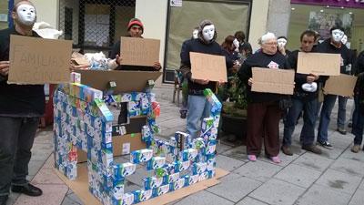 Testimonios de personas 'sin techo' que reclaman una vivienda digna