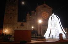 Monumentos de iluminación en las calles de Talavera para esta Navidad