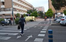 Campaña de la Policía Local de Talavera para el uso y respeto en los pasos de peatones