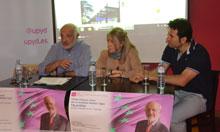 El candidato a las Europeas por UPyD Modesto Ogea presenta su programa en Talavera