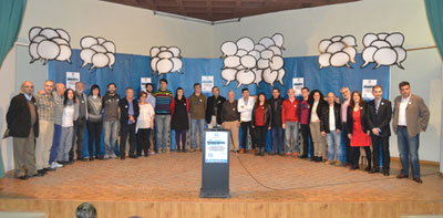 Ganemos Talavera presenta en sociedad a sus 28 candidatos para la Alcaldía