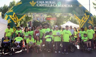 La III Carrera Solidaria de la Fundación Caja Rural Castilla-La Mancha pulveriza todas las previsiones