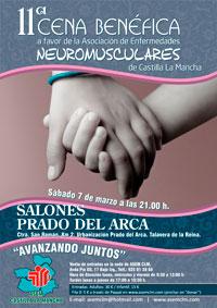 ASEM-CLM celebra su XI Cena Benéfica el próximo 7 de marzo en Prado del Arca