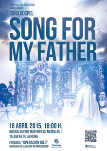 El coro gospel 'Song for my Father' actuará en la Iglesia Santos Mártires el 18 de abril