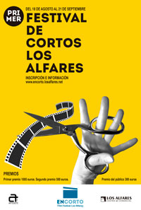 1.800 euros a repartir en el I Concurso de Cortos del CC Los Alfares