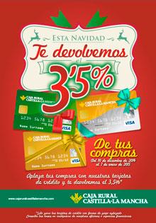 Caja Rural CLM facilita a sus clientes las compras navideñas