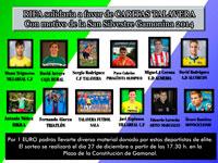 Deportistas de élite como Arroyo, Cubelos, Lurueña, Alarza, Bautista o los hermanos Rodríguez, con la San Silvestre Gamonina