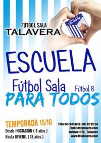 El Soliss FS Talavera inicia el periodo de inscripciones para su Escuela