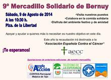 Mercadillo Solidario en Bernuy a favor de la AECC