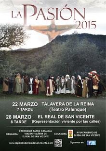 Representación de la Pasión de El Real de San Vicente en el Teatro Palenque