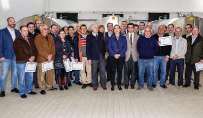 Uniproca inaugura un nuevo centro de recogida de leche de cabra en Albacete