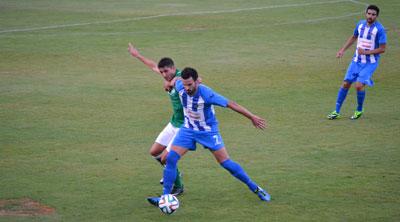 Victoria del CF Talavera sobre el Toledo en un amistoso de 'altura'