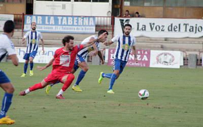 Pedro marca de penalti en los últimos compases y da la victoria al CF Talavera