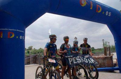 Más de 1.200 kilómetros en bici para promocionar el río Tajo y las poblaciones ribereñas