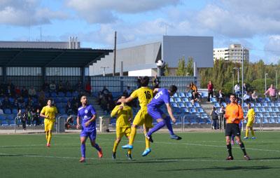 La estrategia del Ciudad de Talavera le permite ganar al Patrocinio en dos jugadas clave