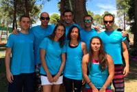 Los nadadores del CN Talavera logran nueve medallas en el Nacional de Verano Máster