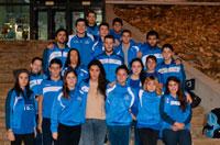 Los nadadores del CN Talavera se sitúan en posición de ascenso a Primera tras la primera prueba