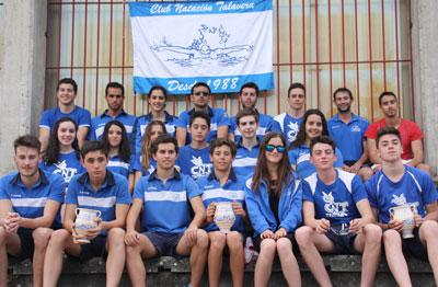 El Club Natación Talavera logra 47 medallas en el Provincial Absoluto de Verano