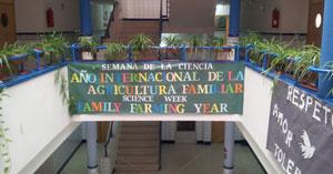 El colegio Ruiz de Luna centra su semana en la agricultura familiar