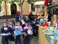 Mercadillo solidario del colegio Juan Ramón Jiménez para recaudar fondos para Afanion