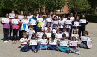 El colegio 'San Ildefonso' entrega los premios del certamen literario 'Mentes voladoras'