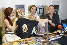 Héctor Caño presenta en Talavera al superhéroe español 'Supersonic Man'