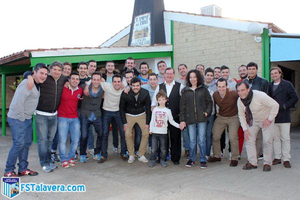 La primera plantilla del FS Talavera compartió una comida de hermandad