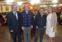 La ONCE festeja a su patrona Santa Lucía reconociendo la labor de algunos vendedores