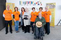 Quedada motera en las inmediaciones del ferial para conmemorar el Día del Daño Cerebral Adquirido
