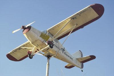 El Consistorio inicia un concurso de ideas para decorar la avioneta de Harinera Talaverana