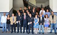 Una veintena de agentes de la Policía Local de Talavera reciben la Medalla a la Permanencia