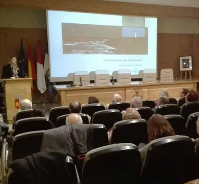 Conferencia sobre el parkinson de ADEPAR