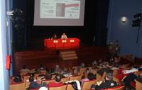 Yolanda Moreno explica la influencia de la familia Rondí en la Talavera mudéjar