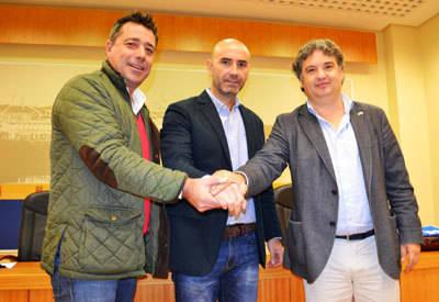 Hermanamiento entre el CF Talavera y el FS Talavera para que sus abonados tengan descuentos del 50 por ciento en sus respectivos partidos