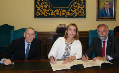 Diputación y ASEM-CLM firman un convenio de apoyo socio-sanitario