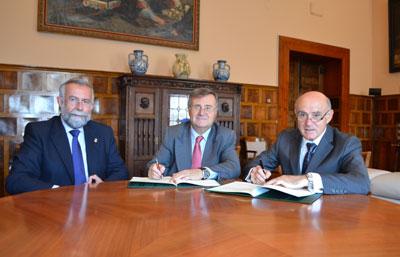 La Diputación y los comerciantes de Talavera suscriben un convenio para impulsar el sector