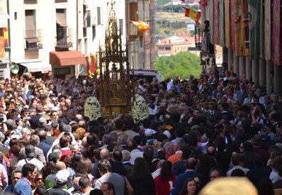Toledo enamora con su Corpus Christi