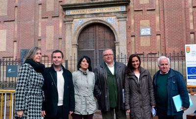 Corrochano garantiza que la biblioteca del Alfar será de gestión pública cuando gobierne el PSOE