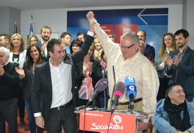 Javier Corrochano, elegido candidato del PSOE a la Alcaldía talaverana