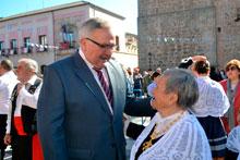Corrochano se compromete a impulsar la declaración de Interés Turístico Internacional para las Mondas