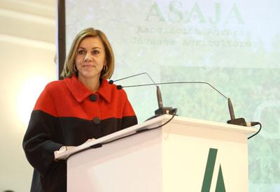 Cospedal anuncia que, en los próximos días, 128.000 agricultores de la región recibirán el pago de 299 millones de euros