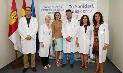 Cospedal inaugura los centros de salud de Belvís de la Jara y Velada