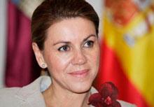 """Cospedal: """"Para mí es un honor, un orgullo y una gran honra ser la presidenta de mi comunidad autónoma, Castilla-La Mancha"""""""